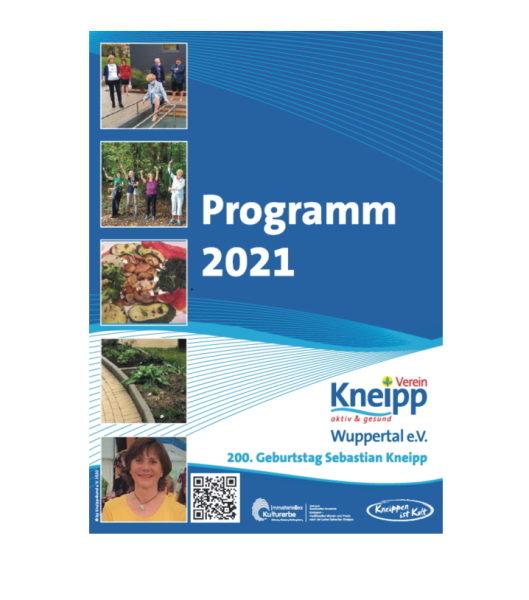 Kneipp-Verein Wuppertal: Programm 2021