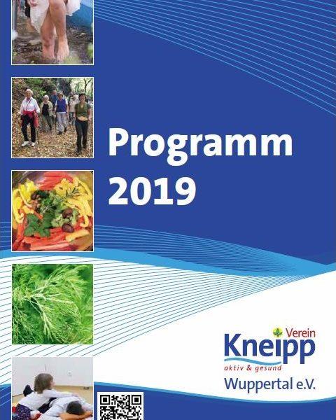 Kneipp-Verein Wuppertal: Programm 2019